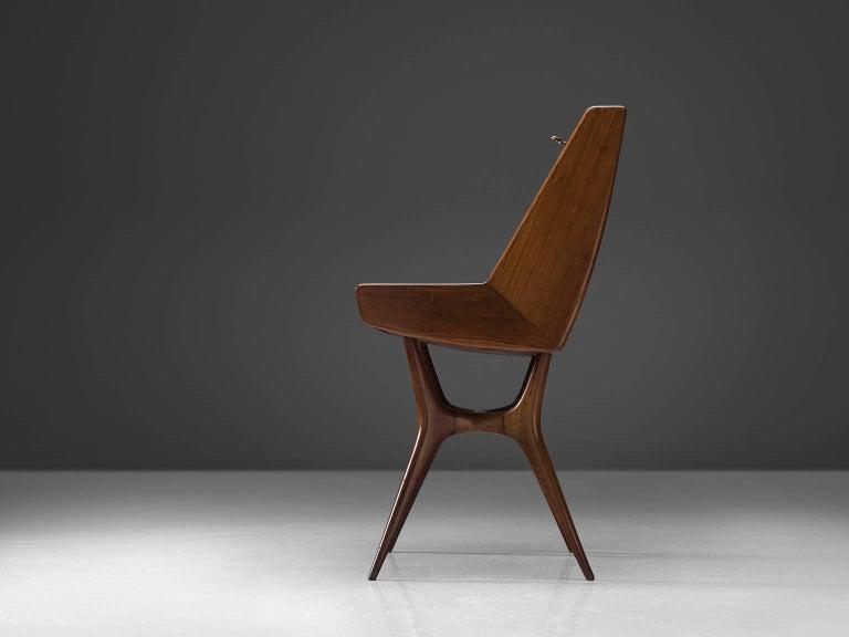 20th Century Italian Secretary in Wood For Sale