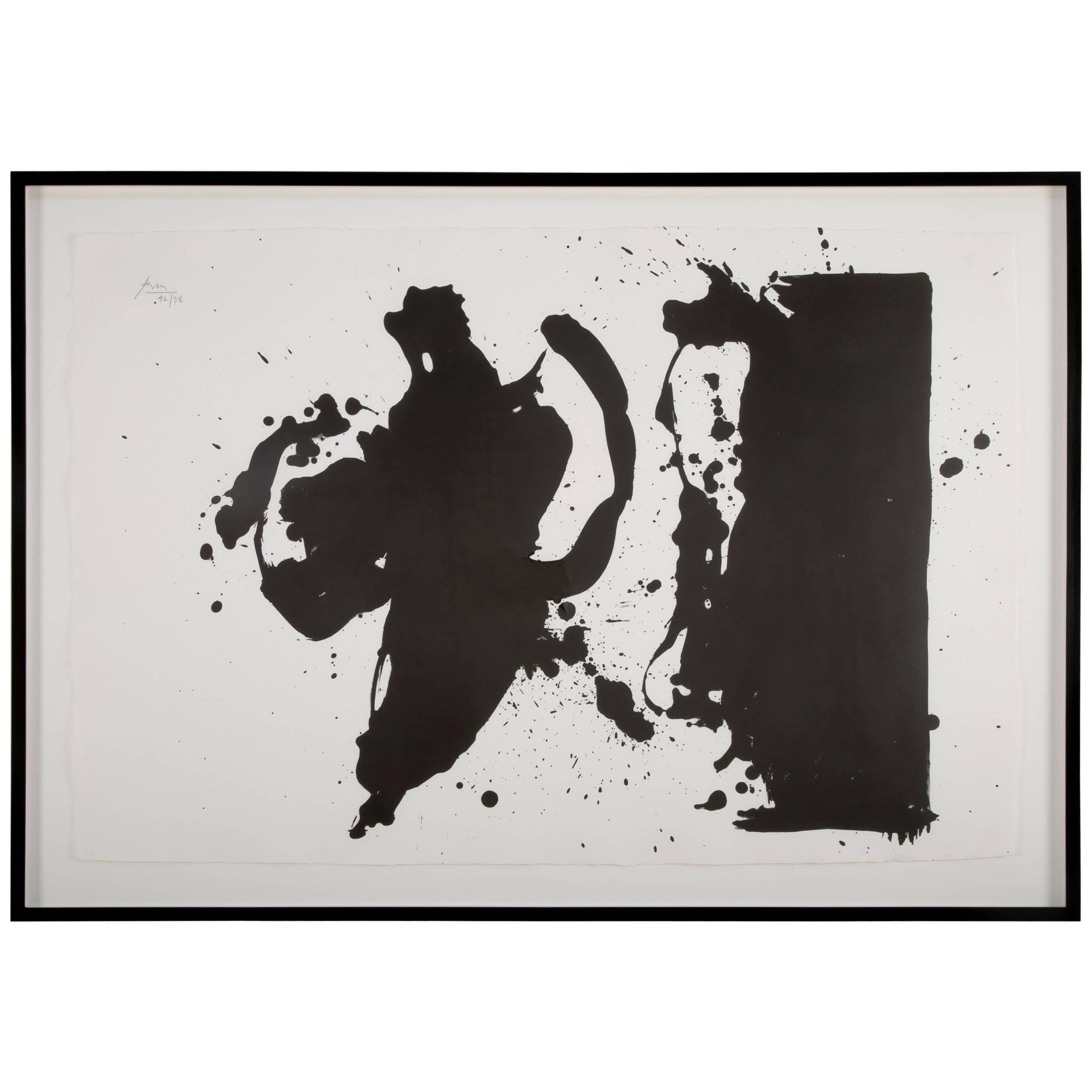 """Elegy (Study)"" by Robert Motherwell"