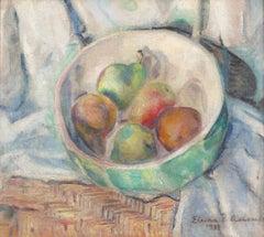 'Still Life of Pears', Philadelphia Post-Impressionist, Richard Tobey Frame