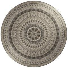 Elektra Round Mosaic Panel Medium by Mutaforma