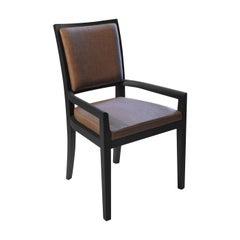 Elem Black Chair with Armrests