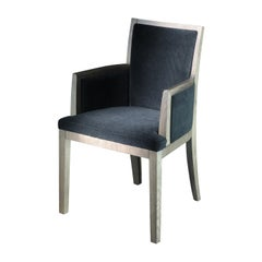 Elem Black Dining Armchair