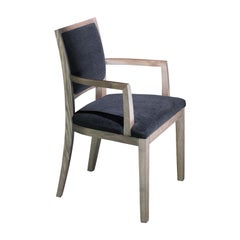 Elementare 4 Black Dining Chair with Armrests