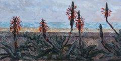ALOE VERA FLOWER, Painting, Oil on Canvas