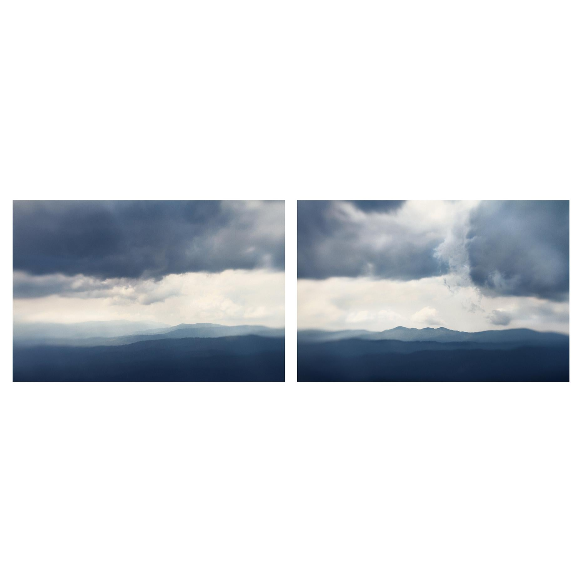 Elena Lyakir Diptych, Destiny and Fate Photographs, Land and Sea Series, 2013