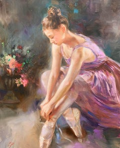 Ballerina in Lilac