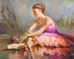 Ballerina with a Rose