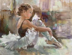 Seated Young Ballerina