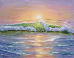 Sunrise, Painting, Oil on Canvas