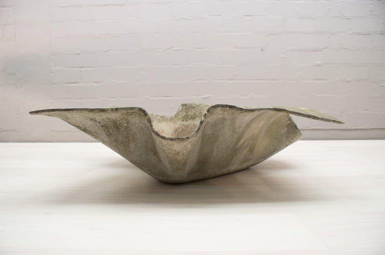 Elephant Ear Planter by Willy Guhl for Eternit Switzerland, 1950s For Sale 1