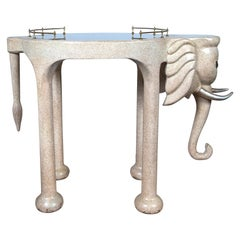 Elephant Rolling Bar Cart