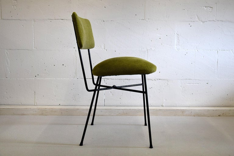 Elettra by Studio BBPR for Arflex Green Mid Century Modern Chair In Good Condition For Sale In Weesp, NL