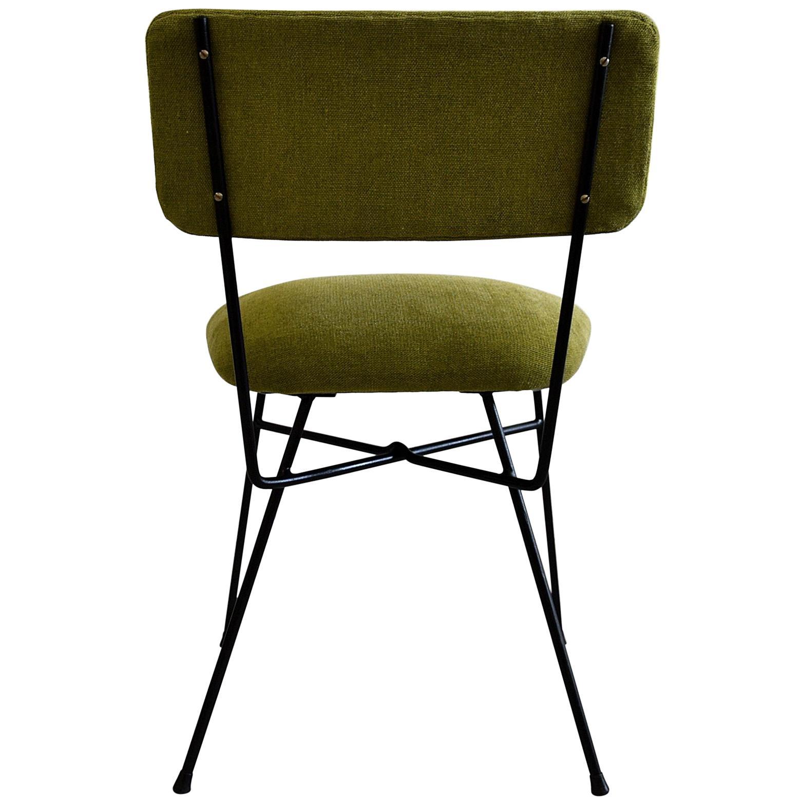 Elettra by Studio BBPR for Arflex Green Mid Century Modern Chair