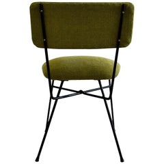 Elettra by Studio BBPR for Arflex Green Mid Century Modern Chair