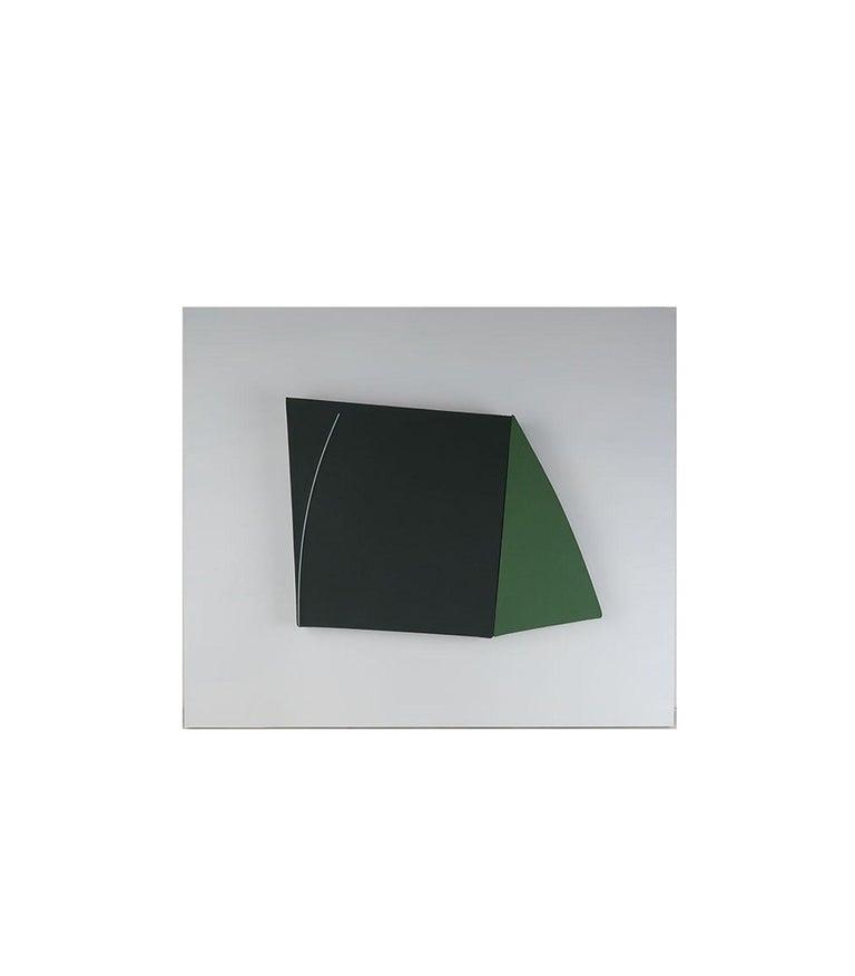 Minimalist Elevation 1. John Groom, 1981, Acrylic on Canvas For Sale