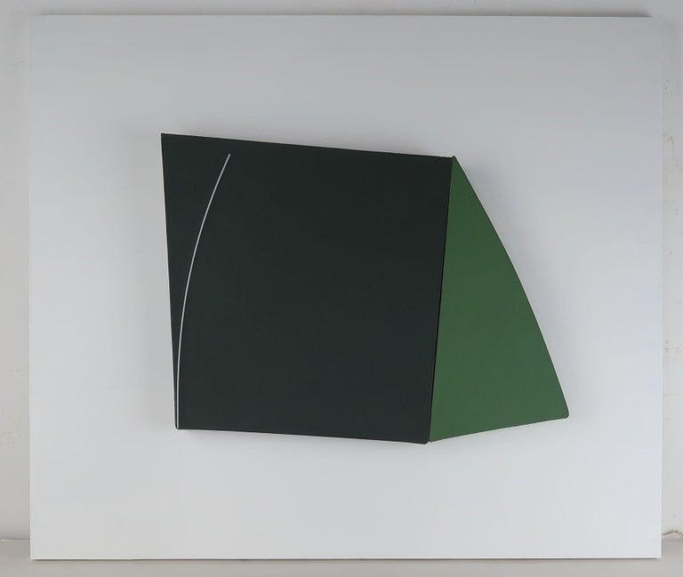 English Elevation 1. John Groom, 1981, Acrylic on Canvas For Sale