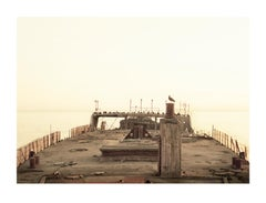 Elger Esser, Sea Cliff, 2008. Photograph.