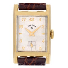 Elgin Lord Elgin 4532, Beige Dial, Certified and Warranty