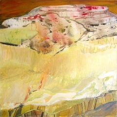 Sandy Fields, Painting, Acrylic on Canvas