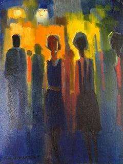Figure - Eliano Fantuzzi Oil on Canvas