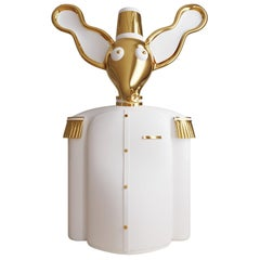 Elie Brass Elephant Bar Storage Cabinet by Matteo Cibic
