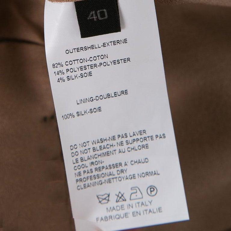 Elie Saab Black Eyelet Embroidered Gathered Sleeveless Maxi Dress S 1