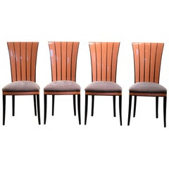 Eliel Saarinen Cranbrook Dining Chairs - 1980's Authorized Production