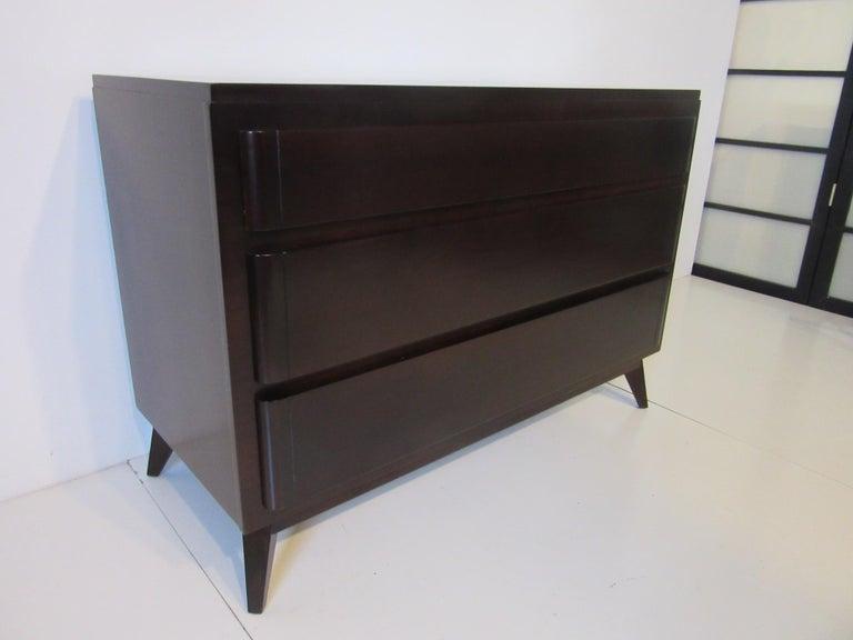 Mid-Century Modern Mid Century Dresser / Chest for Rway Modern For Sale
