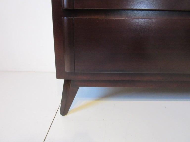 20th Century Mid Century Dresser / Chest for Rway Modern For Sale