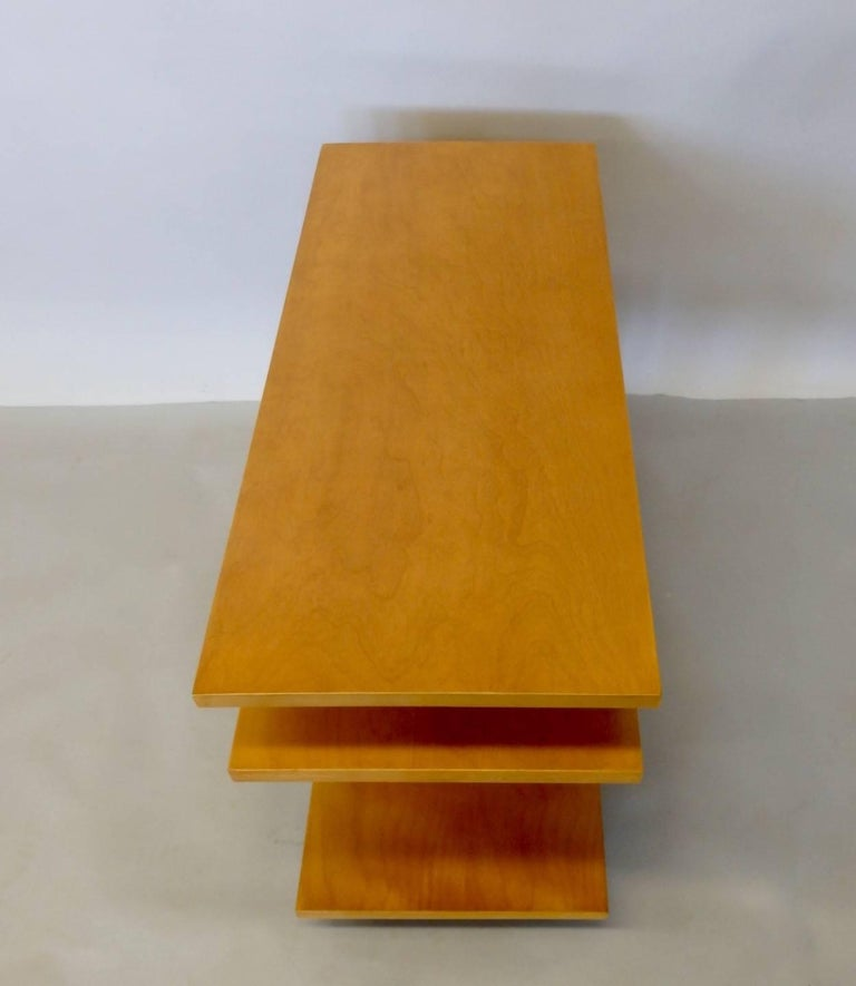 Eliel Saarinen for Johnson Furniture Architecturally Structured Side Tables For Sale 3