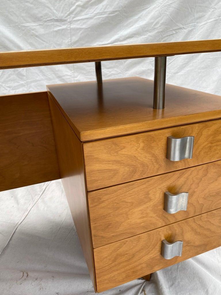 Eliel Saarinen for Johnson Furniture Executive Desk For Sale 3