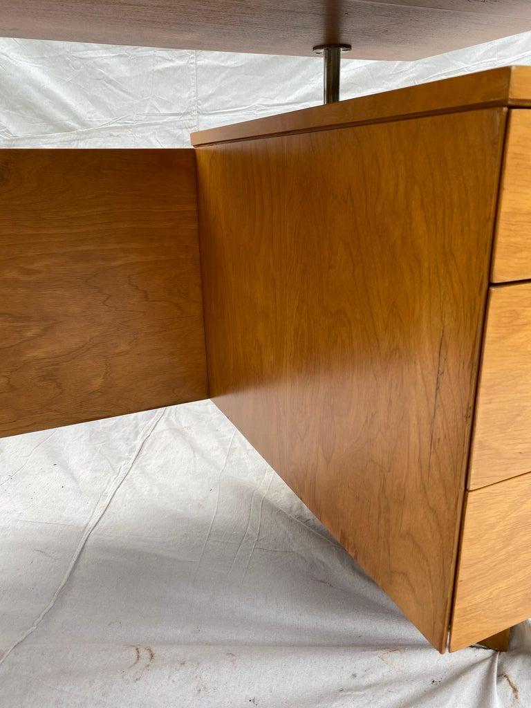 Eliel Saarinen for Johnson Furniture Executive Desk For Sale 4
