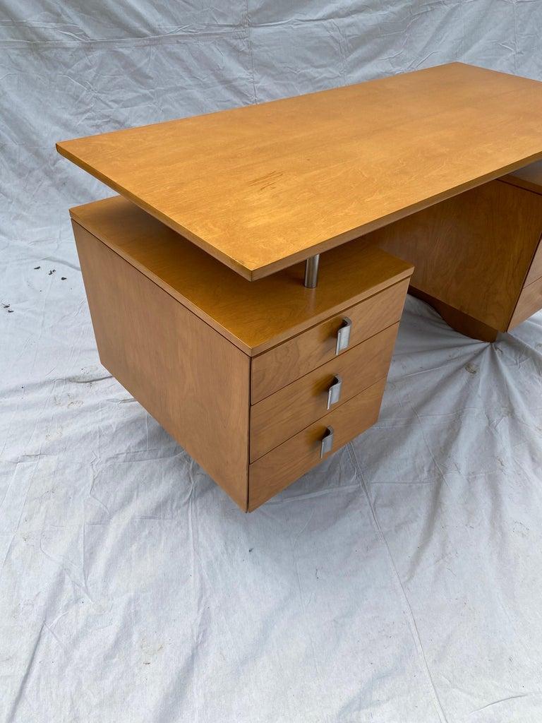 Eliel Saarinen for Johnson Furniture Executive Desk For Sale 1