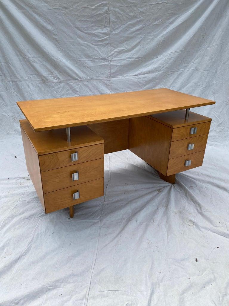 Eliel Saarinen for Johnson Furniture Executive Desk For Sale 2