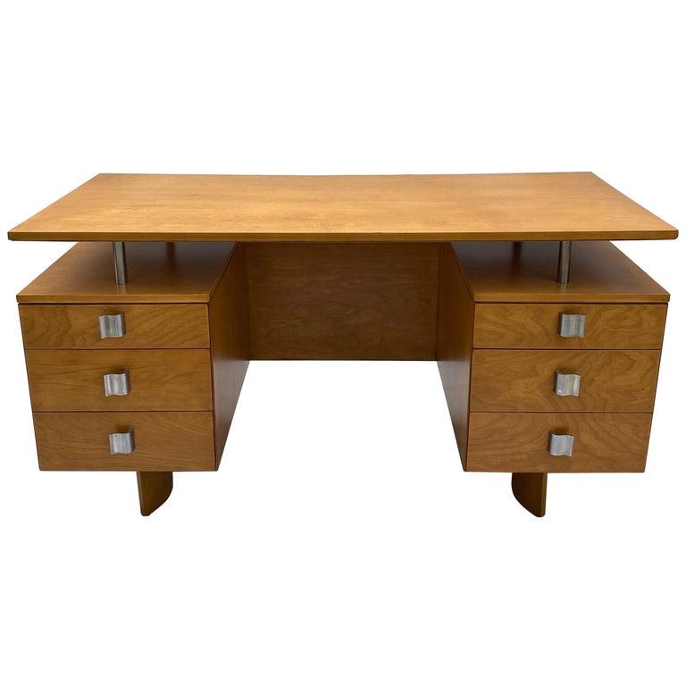 Eliel Saarinen for Johnson Furniture Executive Desk For Sale