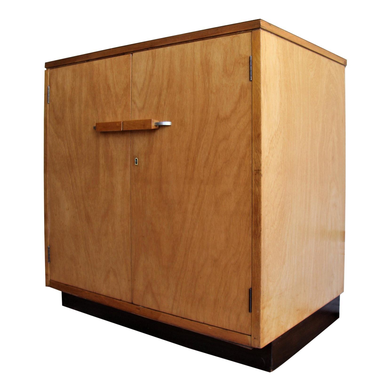 Eliel Saarinen Two Door Cabinet by John Stuart for Johnson Furniture Co