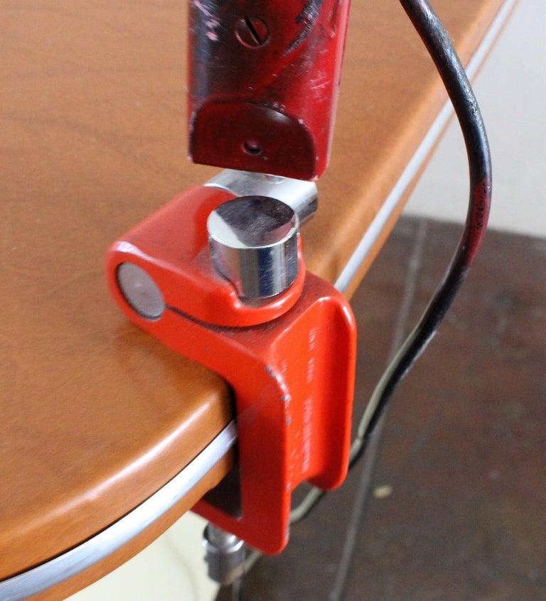Elio Martinelli Luce 1970s Serpente Desk Lamp In Good Condition For Sale In Los Angeles, CA