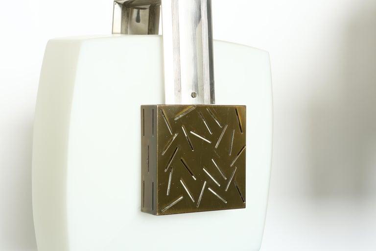 Metal Elio Monesi for Arredoluce Ceiling Pendant For Sale