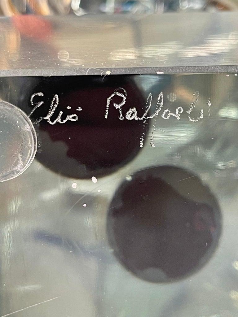 Elio Raffaeli Glass Sculpture For Sale 1