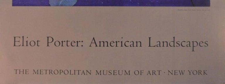 Poster-American Landscapes-Metropolitan Museum of Art, New York - Print by Eliot Porter