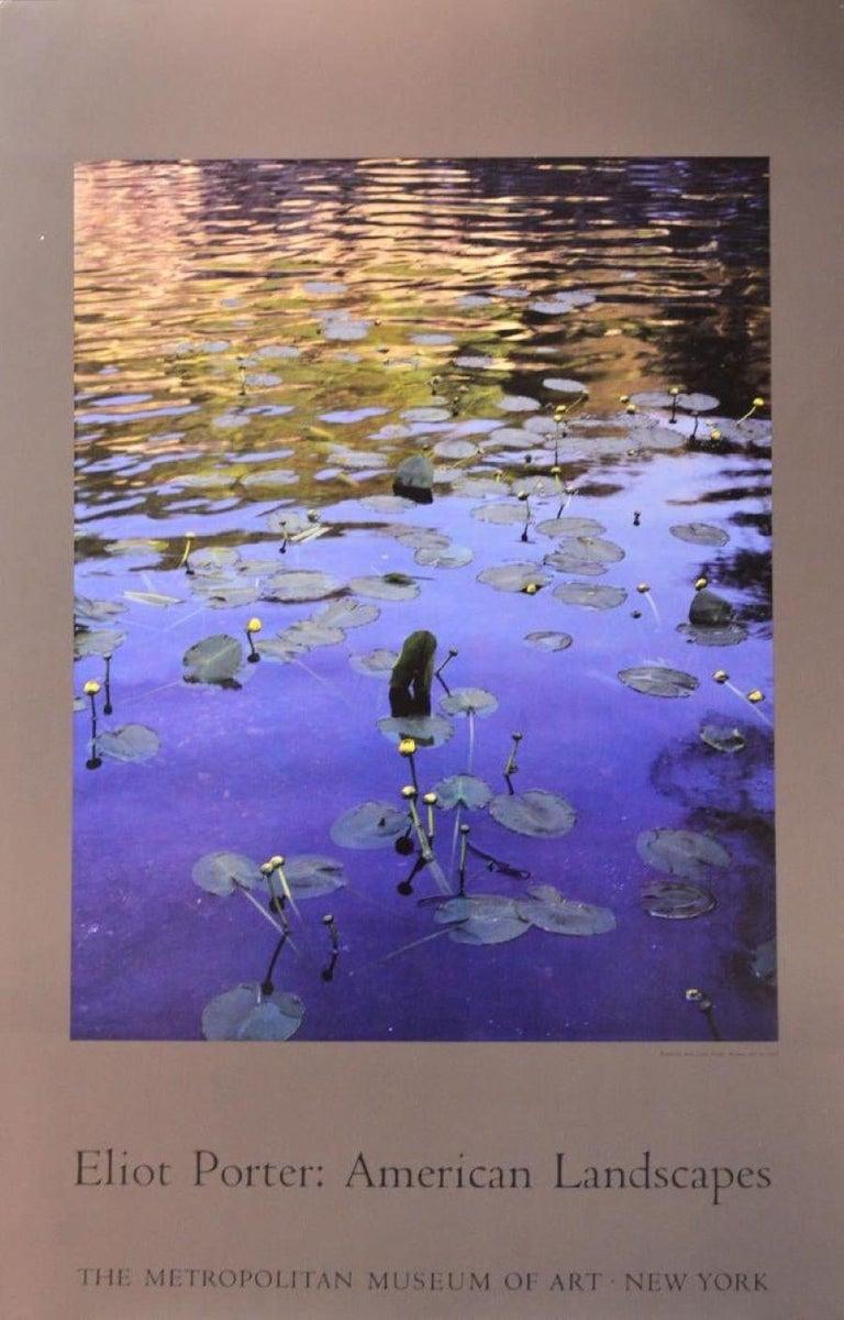 Eliot Porter Landscape Print - Poster-American Landscapes-Metropolitan Museum of Art, New York