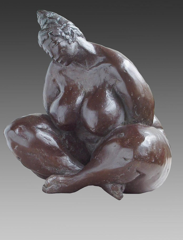 Elisabeth Cibot Nude Sculpture - Belle en Songe