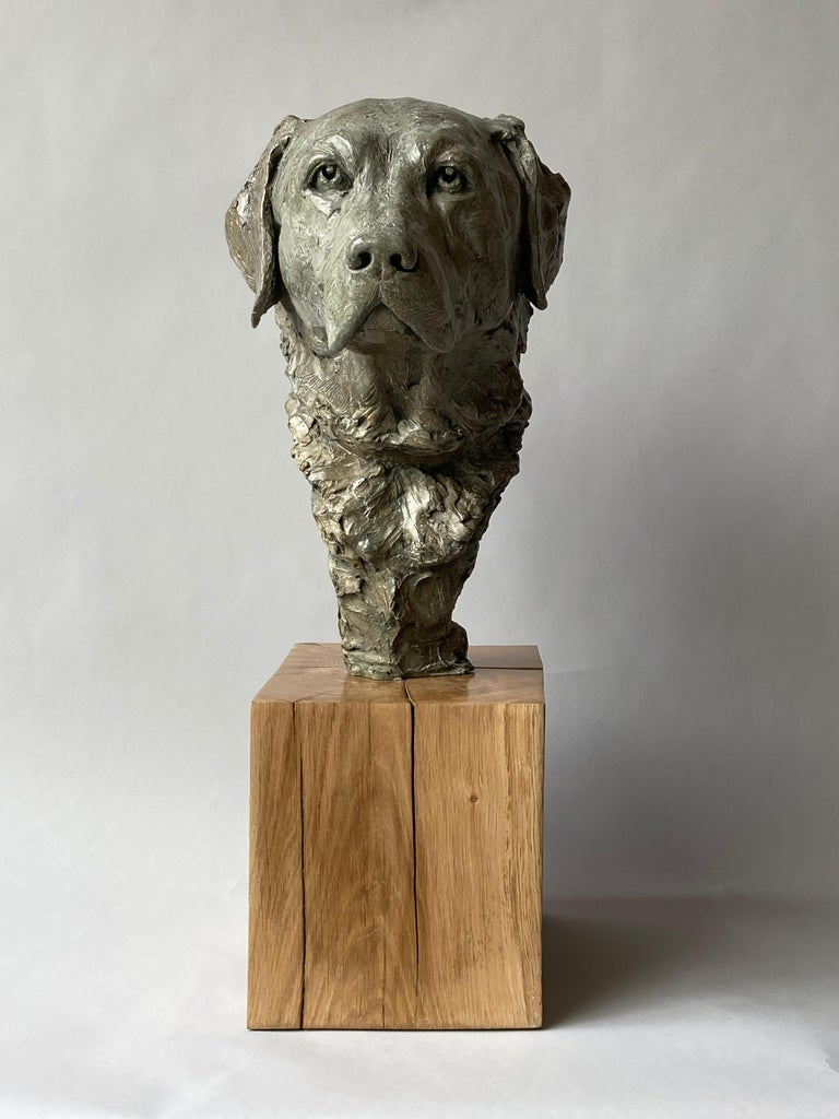 Derby Bronze  - Contemporary Sculpture by Elisabeth Cibot