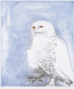Snowy owl (1977) (signed)
