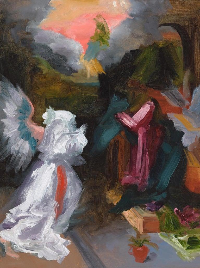Elise Ansel, Revelations II, Oil on Linen - Painting by Elise Ansel
