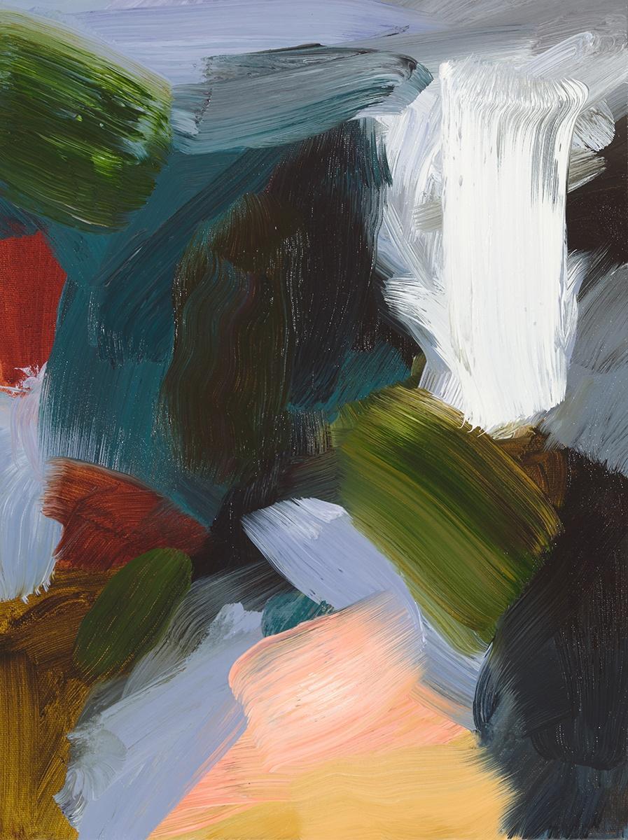 Elise Ansel, Revelations IX, Oil on Linen