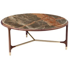 Elisee Round Table with Marble Top