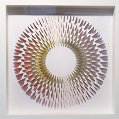 Rozetta YOR - contemporary modern abstract geometric paper relief
