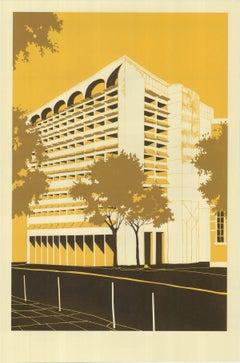 Civic Building – Manaus, Eliza Southwood, Limited Edition Silkscreen Print