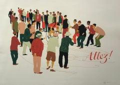 Eliza Southwood, Allez, Figurative Art, Affordable Art, Art Online
